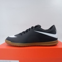 Sepatu Futsal Nike Bravata II IC Black White 844441-001 Original BNIB