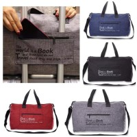 Duffle Bag / Foldable Travel Bag / / Tas Gym Lipat / Tas Travel Lipat