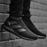 Sepatu Adidas Ultraboost Ace 16 Triple Black / Ultra boost / Pria