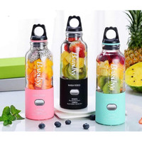 BARSNY PORTABLE JUICER BLENDER PORTABEL UKURAN 500ML Juice Cup USB