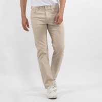 Edwin Celana Chinos Pria Monaco Slim Fit Stretch Cream