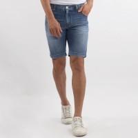 Edwin Celana Jeans Pendek MIAMI 02 Slim Fit Pria Pendek Biru