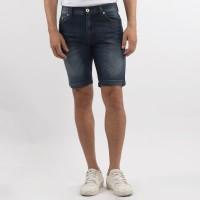 Edwin Celana Jeans Pendek MIAMI 03 Slim Fit Pria Pendek Biru Muda
