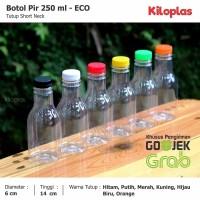 Botol Pir 250 ml/Botol Plastik 250 ml - ECO Khusus GOJEK / GRAB