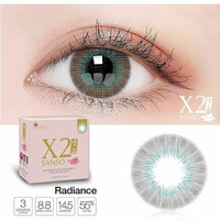 X2 Sanso Radiance normal minus s/d -600 Softlens 14.5 mm