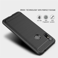 Soft Case Xiaomi Redmi Note 5 Pro Casing Cover Ipaky Carbon FIber