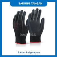 sarung tangan pu hitam - M