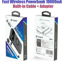 Ultimate Power Wireless Powerbank 10000Mah WR10 Fast Charging resmi