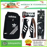 sepatu futsal KULIT ASLI 1 set lengkap