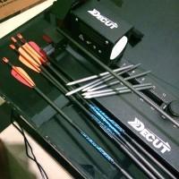 Arrow Cutting dg mesin PCOCUT DECUT - Potong Anak Panah