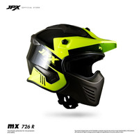 Helm JPX MX 726 Modular Black/Yellow