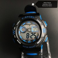 Jam tangan digital Anak dan remaja water Resist lasika 899