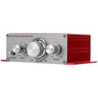 LEPY HY-2001 Hi-Fi Stereo Amplifier Speaker 2 Channel 20W - RED