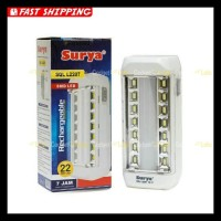 lampu led surya sql l2207 portable emergency lamp