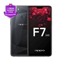 OPPO F7 Pro Black 128GB & 6GB Garansi Resmi