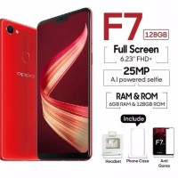 OPPO F7 PRO 6GB 128GB - GARANSI RESMI OPPO INDONESIA