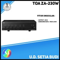 TOA Mixer Amplifier ZA-230W Asli dan Bergaransi