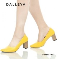 WILONA - Dalleya sepatu big / chunky heels wanita real pict polos