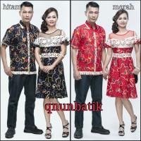 SARIMBIT COUPLE DRESS BATIK SABRINA DAUN JAYA