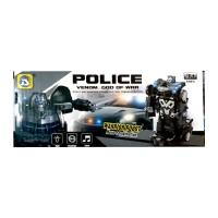 mainan anak police warrior robot venom