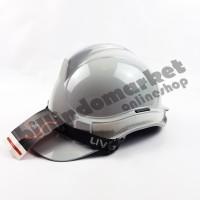 Helm Kerja Proyek Scotlight UVEE Grey Abu-Abu SUPER QUALITY