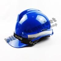 Helm Kerja Proyek Scotlight UVEE Blue Biru SUPER QUALITY