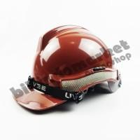 Helm Kerja Proyek Scotlight UVEE Brown Coklat SUPER QUALITY