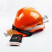 Helm Kerja Proyek Scotlight UVEE Orange Oren SUPER QUALITY