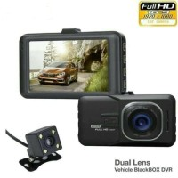 Kamera Mobil Dash Cam 2 Kamera - DVR Car Dual Camera Dash Cam CME2 - TANPA MEMORI
