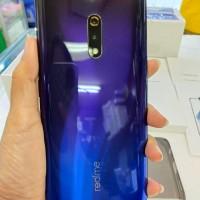 Real Me X 4 - 128 Gb Blue Mulus 99% Garansi Resmi OPPO Indonesia
