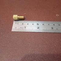 Adaptor pentil sepeda fixie france presta sambungan pompa kuningan