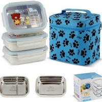 Tijuh GIG baby Rectangle Lunch Box