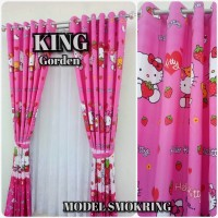 GORDENG HORDENG KARAKTER GORDENG SMOKRING, RING GORDENG HELLO KITTY