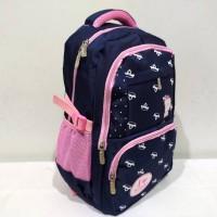 Ransel Sekolah SD SMP Tas Anak Perempuan Remaja Backpack Import Cantik