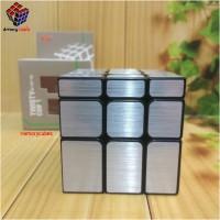 Rubik Mirror Yongjun Jingmian SILVER - Amory Cubes