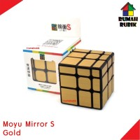 Rubik Mirror Moyu Mirror S Gold Rubik Murah