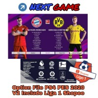 Option File Patch PS4 eFootball PES 2020 - Winning Eleven 20