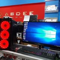 PC GAMING INTEL CORE I7 LED MNITOR 19 IN FREE USB WIFI SIAP PAKAI