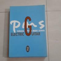 Buku Yamaha Popular Music School Electric Guitar