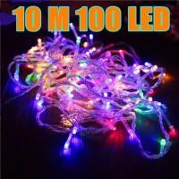 Lampu Natal LED 10M 100 LED / Twinkle Light / Lampu Tumblr