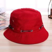 Topi Bucket Casual Pria / Wanita Untuk Memancing / Hunting - HPO053