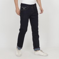 PAPPERDINE JEANS 212 Raw Selvedge Stretch Celana Pria Panjang