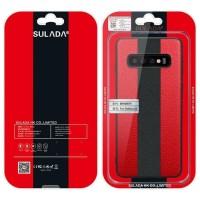 SAMSUNG GALAXY S10 ORIGINAL SULADA LEATHER PORSCHES SILICONE HARD CASE