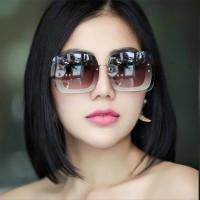 Grosir Kacamata Wanita Miu Miu Gliter Fullset