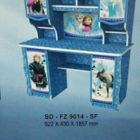 Meja Belajar Motif Frozen SD FZ 9014 SF