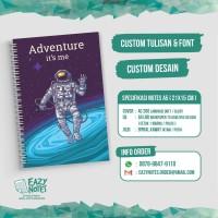Custom Notebook A5