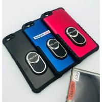 CASE OPPO A39 DELKIN RING / CASE RING OPPO A39 / OPPO A57 - Hitam