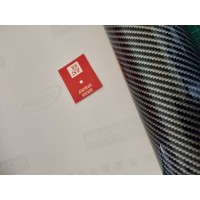 Stiker - Sticker Karbon 5D - Skotlet Maxdecal Carbon 5D - Black Silver