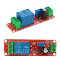 Delay On Timer Switch 555 Adjustable Modul / Saklar Tunda ON