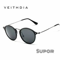 AV09 Kacamata Pria Sunglasses Veithdia ORI Polaroid kacamata Polarized